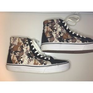 Limited edition aspca cat high top Vans
